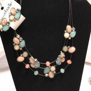 Charming Charlie Matching necklace with earrings